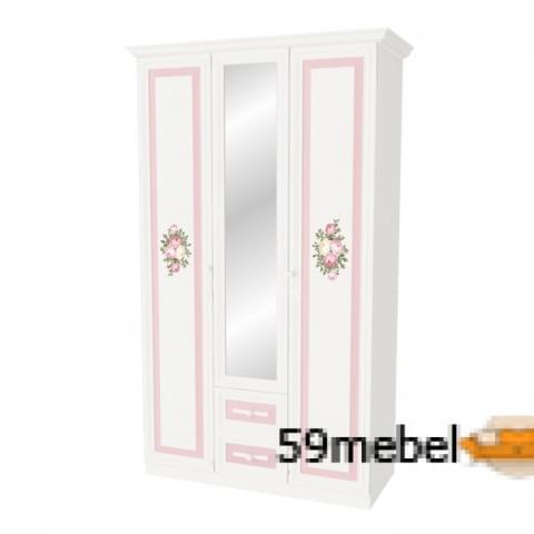 Шкаф 3-створчатый Алиса