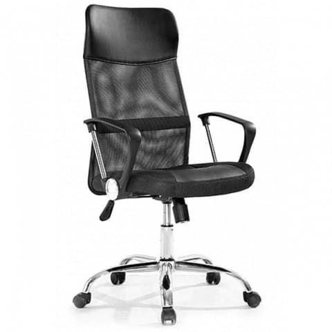 кресло 8011-MSC черный