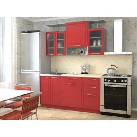 Кухонный гарнитур Алла-Алый