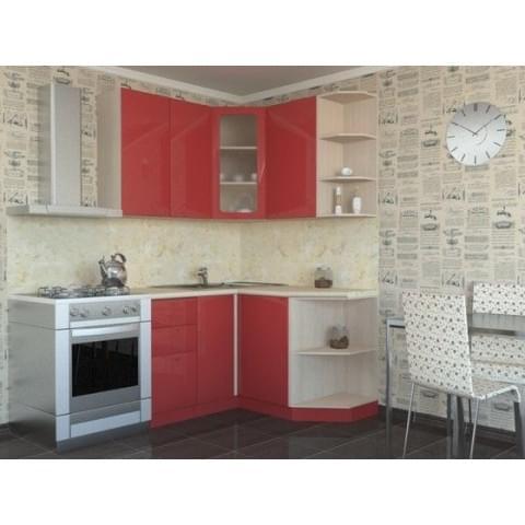 Кухонный гарнитур Ирина-Алый