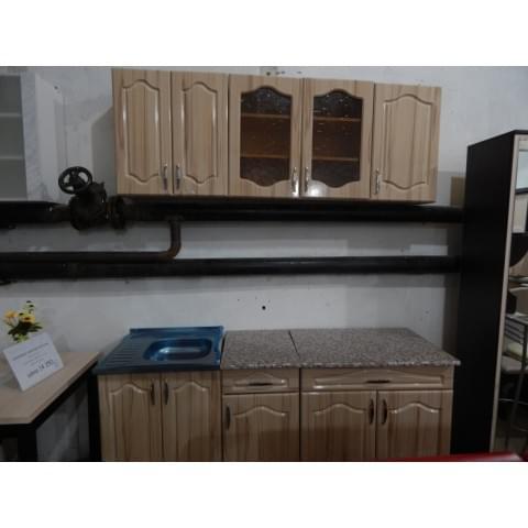 Кухонный гарнитур mini Ольга-Капучино