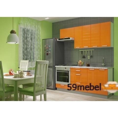Кухонный гарнитур Виктория-Оранж