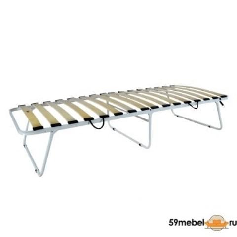 Кровать раскладная увеличенная на ламелях без матраса Луна - 3