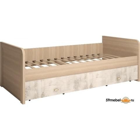 Кровать односпальная Ультра с ящиками