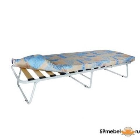 Кровать раскладная на ламелях с мягким матрасом Марфа - 1