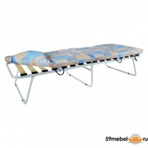 Кровать раскладная увеличенная на ламелях с мягким матрасом Марфа - 3