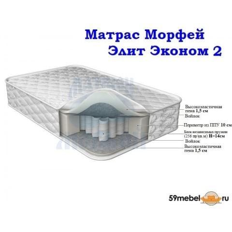матрас Морфей Элит Эконом 2