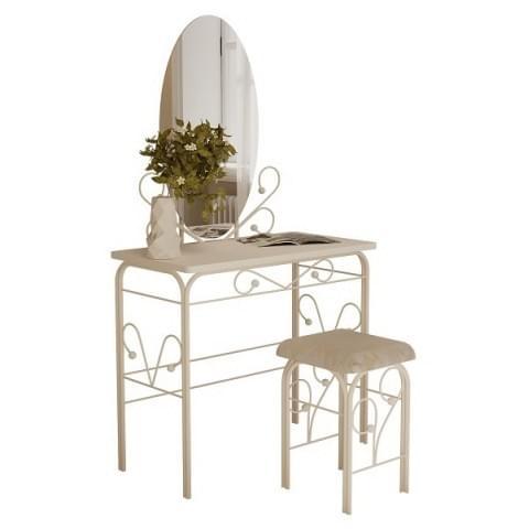 столик дамский ГЗМИ (белый/белый)