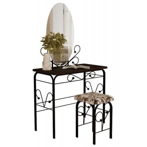 столик дамский ГЗМИ (черный/венге)