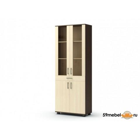 Шкаф-витрина с ящиком Максим