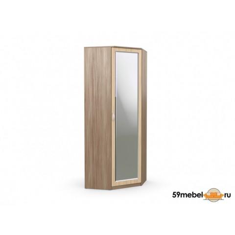 Шкаф угловой Дуэт с зеркалом