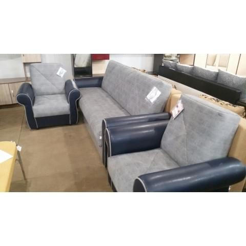 Набор мягкой мебели Валенсия: диван + 2 кресла