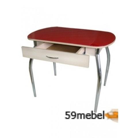 Стол обеденный Гала-10 с ящиком