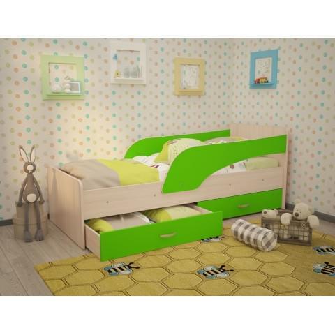 Кровать детская Антошка с бортиком