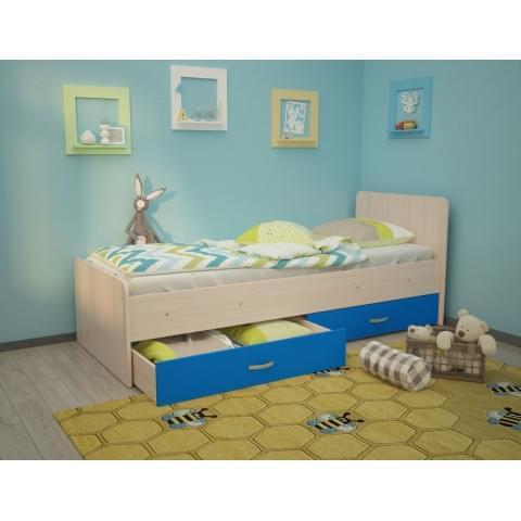 Кровать детская Антошка c ящиками