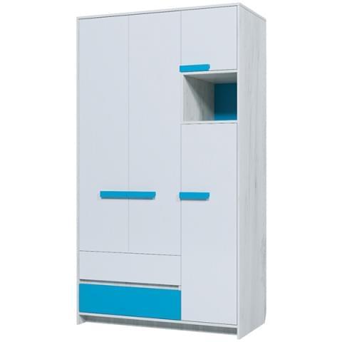 Шкаф 3-створчатый Бриз 25