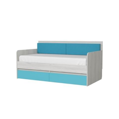 Кровать-тахта Бриз 800.4 с подушками