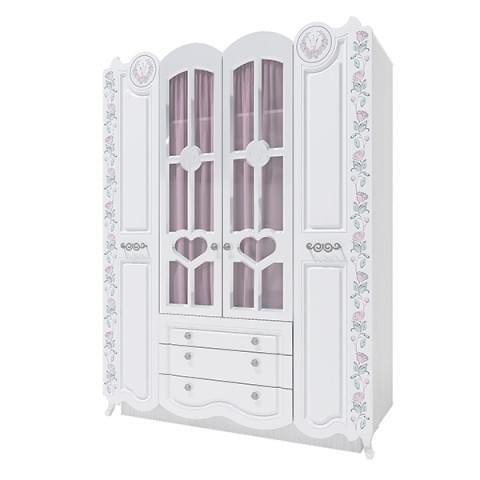 Шкаф 4-створчатый Розалия 24