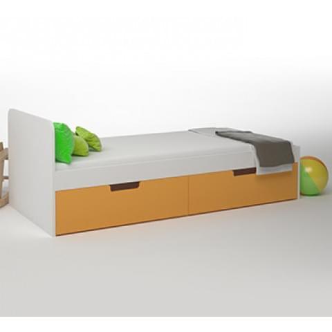 Кровать детская Брусника 2 ящика
