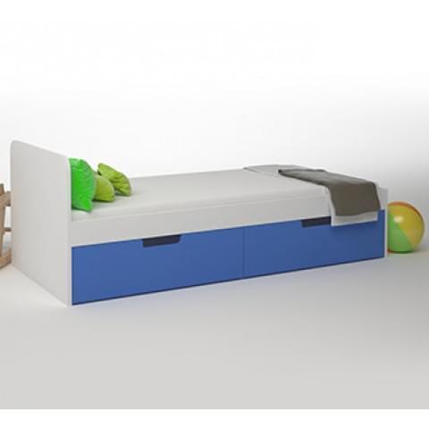 Кровать Брусника 1,9 с 2 ящиками