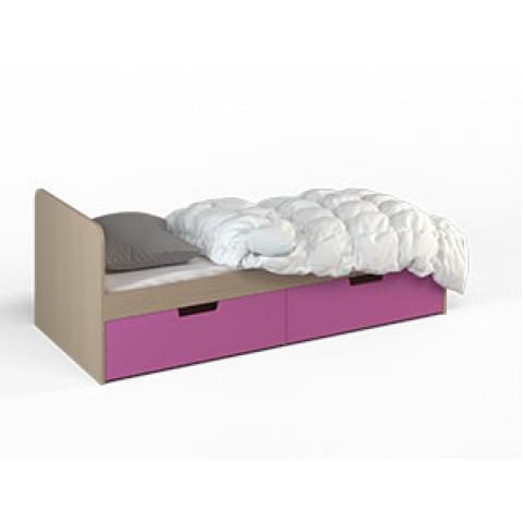Кровать Малина 1,9 с ящиками