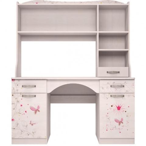 Стол письменный Принцесса с надстройкой (модуль №6 + модуль №11)