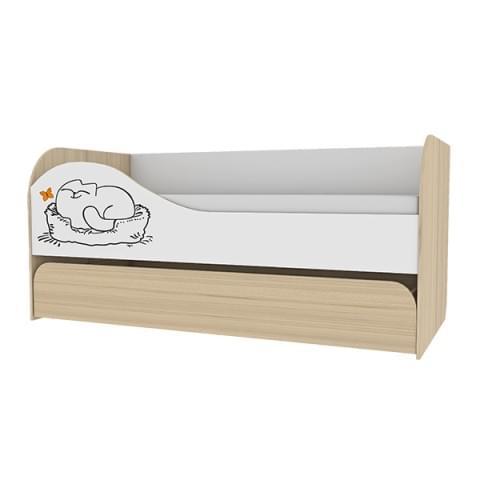 Кровать двухуровневая Кот 900.1