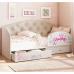 Кровать детская Эльза с бортиком