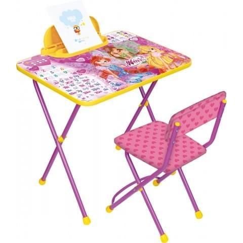 Комплект детской мебели «Винкс. Азбука» (арт. В2А)