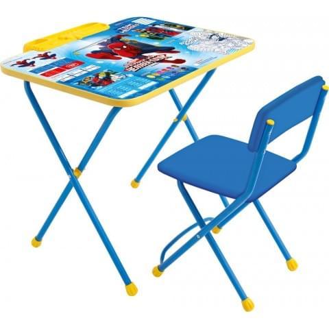 Комплект детской мебели «Человек-паук» (арт. Д2Ч)