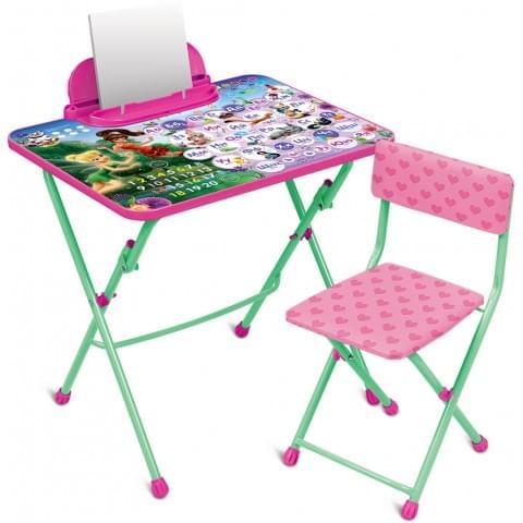 Комплект детской мебели Disney «Феи. Азбука» (арт. Д3Ф1)