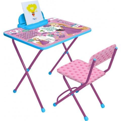 Комплект детской мебели Disney с Рапунцель (арт. Д1Р-М)