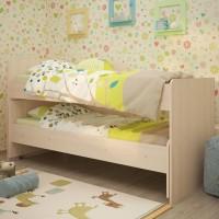 Кровать выкатная Радуга 1.9 на щитах без ящика
