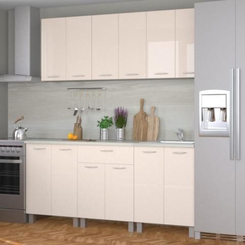 Кухонный гарнитур Ирина 1.8 Ваниль