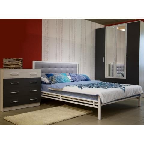 Кровать Лагуна 140 металлическая