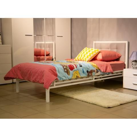 Кровать Лагуна 90 металлическая
