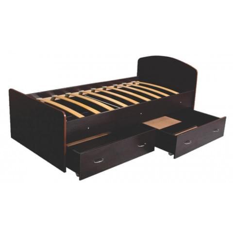 Кровать 1-спальная с ящиками 800