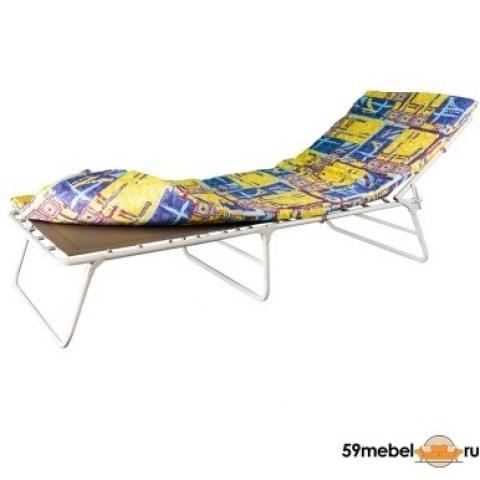 Кровать раскладная усиленная с полумягким матрасом Соня - 3