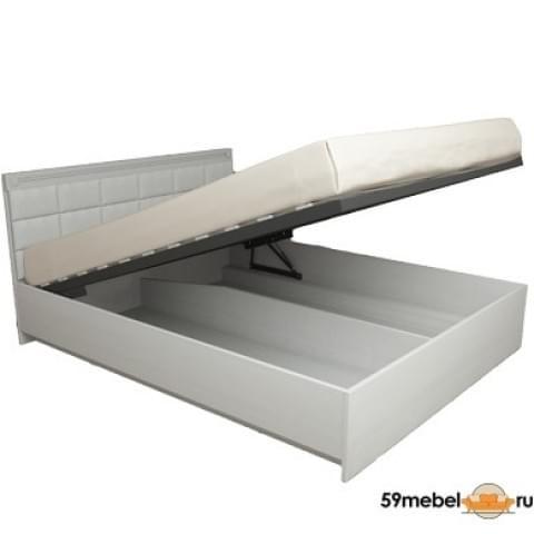 Кровать с подъемным ортопедическим основанием Азалия МДФ ПМ