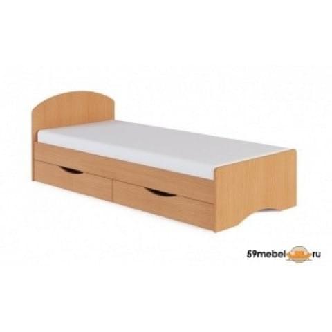 Кровать Румба КБ с ящиками 0.8