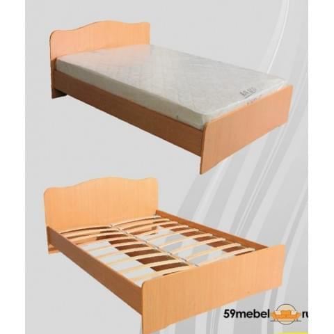 Кровать 1.5-спальная 1200