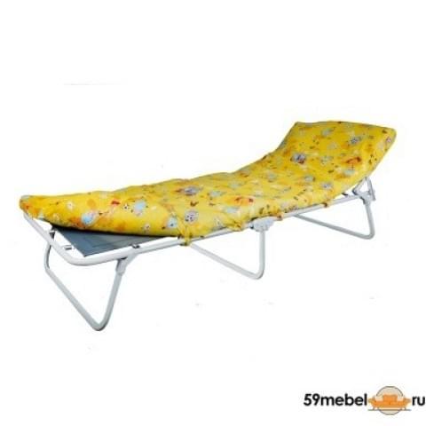 Кровать раскладная малая с полумягким матрасом Соня - М1