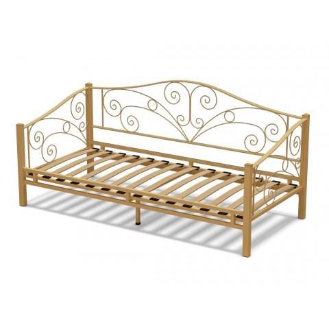 Кровать 90 Лаура металлическая