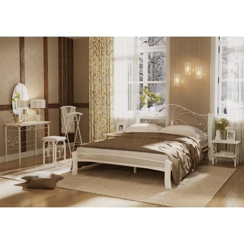Кровать Фортуна-4 Лайт белый/белый 1.6