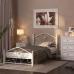 Кровать Селена-1 белый/белый