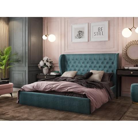 Кровать Жасмин 1.6 с подъемным механизмом