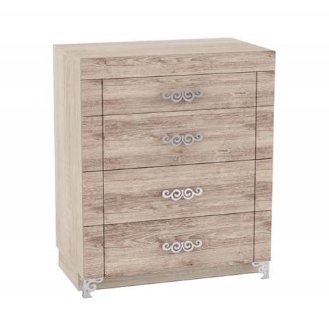 Комод Сан-Ремо 9.1 с 4 ящиками