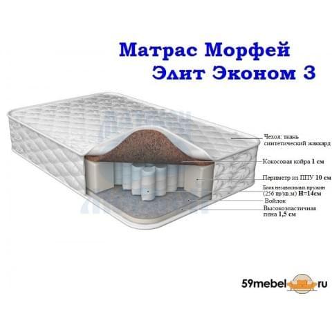 Матрас Морфей Элит Эконом 3