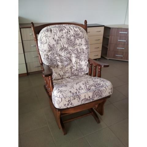 Кресло-качалка Барон на маятниковом механизме (массив березы)