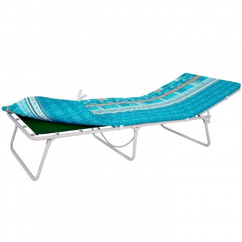 Кровать раскладная усиленная с полумягким матрасом Соня-3